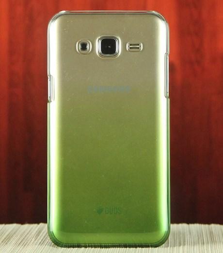 Ốp lưng - Flipcover điện thoại Ốp lưng Galaxy J5 Nhựa Zenus Nude Xanh lá