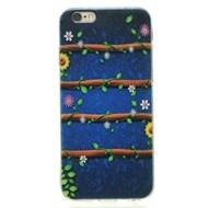 Ốp lưng iPhone 6 - 6s Nhựa dẻo mỏng Dây Hoa