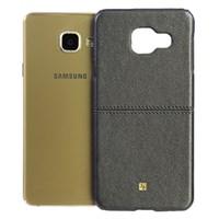 Ốp lưng Samsung Galaxy A3 (2016) Nhựa PU Ratio II JM Xám