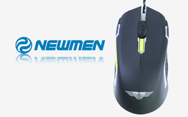 Chuột có dây Newmen N8000 -Chuột game thương hiệu Newmen
