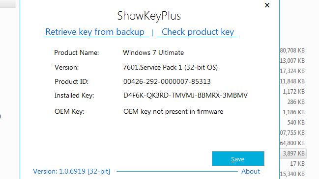 Hướng dẫn cách lấy lại Key và kích hoạt lại Windows bản quyền