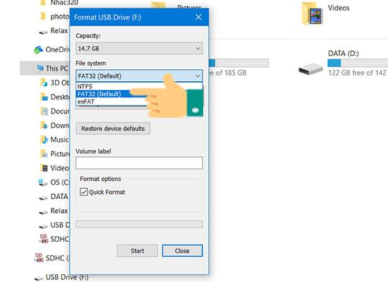 Tạo USB BOOT để cài đặt Windows 10