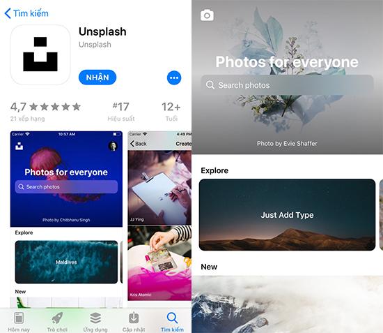 5 ứng dụng wallpapers đẹp mắt cho iOS