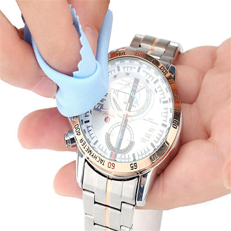 Lau sạch đồng hồ sau khi sử dụng
