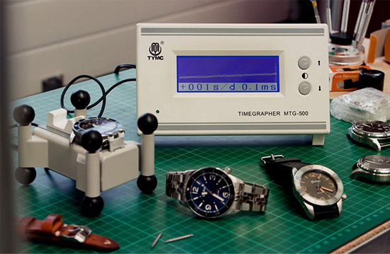 dùng máy timgrapher để kiểm tra