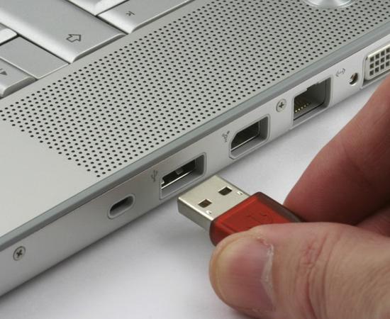 gắn USB