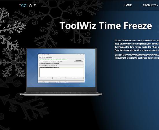 Phần mềm đóng băng ToolWiz Time Freeze