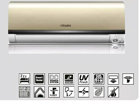 Các công nghệ hiện đại trên máy lạnh Hitachi