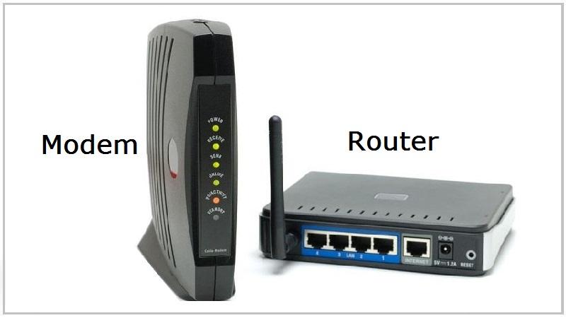 Router & Modem khác nhau như thế nào? Cách phân biệt ra sao? - Thegioididong.com