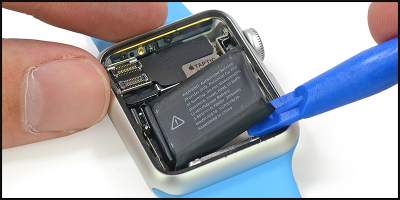 Pin của Apple Watch Series 5