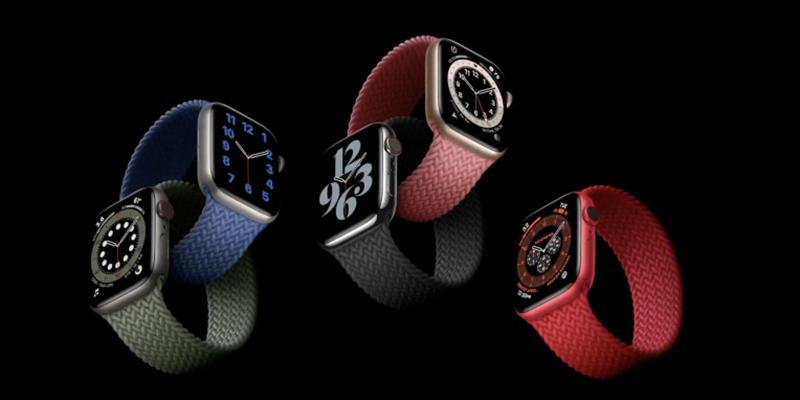 Màn hình Apple Watch Series 6