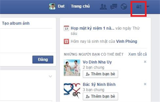 chặn tin nhắn spam trên facebook