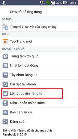 chặn tin nhắn spam trên facebook4