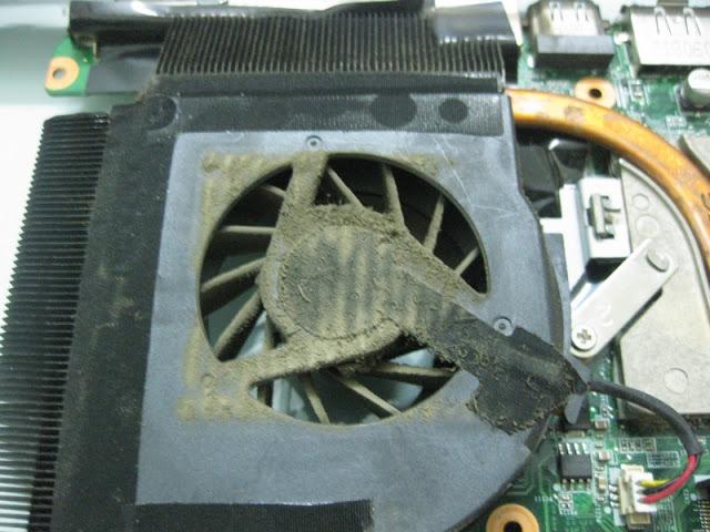 Quạt tản nhiệt Laptop bị chết: