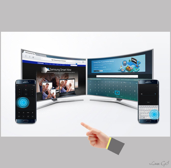 how to connect samsung s6 to smart tv